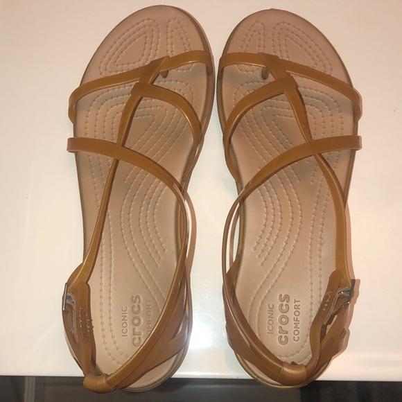 Crocs strap sandal 8W